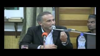 communication avec allah causerie par pf tairq ramadan musjid ar rayhaan