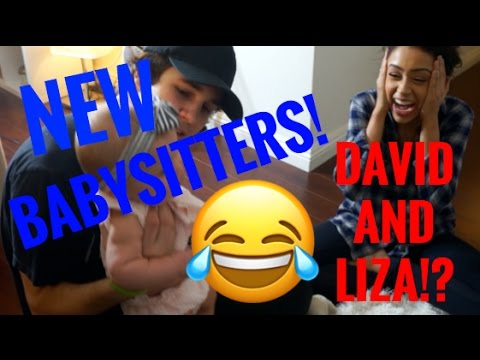 Thumbnail: David Dobrik and Liza Koshy Babysit Taytum and Oakley?! VLOG