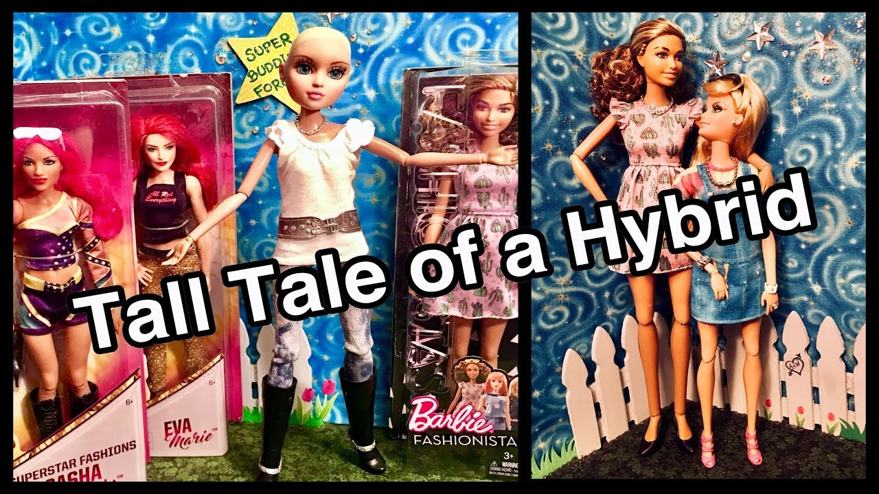 2c28b75b94202 How I made a Tall   Articulated Barbie w  Moxie Teenz doll ~ Shoes ...