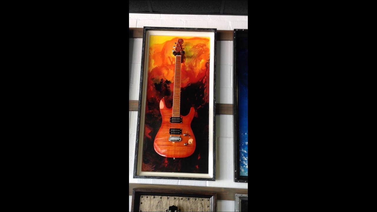 G Frame Guitar Display Case. Make Any Guitar Just That Much Cooler.  GFrames.com