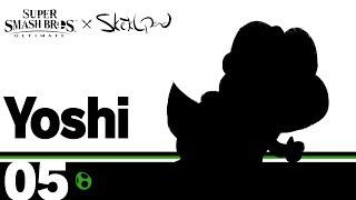Super Smash Bros Ultimate x Sketchpad | Yoshi