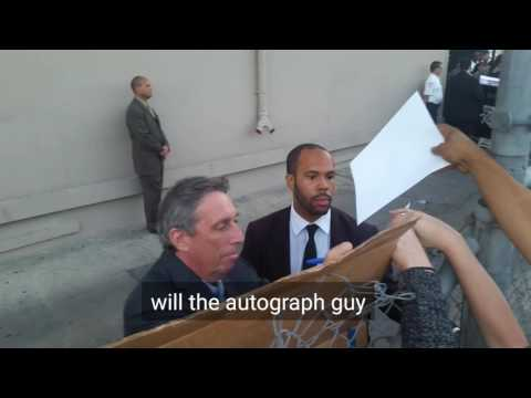 Ivan Reitman of Ghostbusters Signing Autographs For Fans