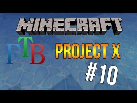 Project X #10 - Silicon aus Sand [FTB]