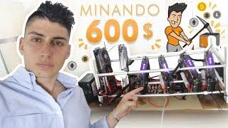 Generando 600$ al mes MINANDO CRIPTOMONEDAS