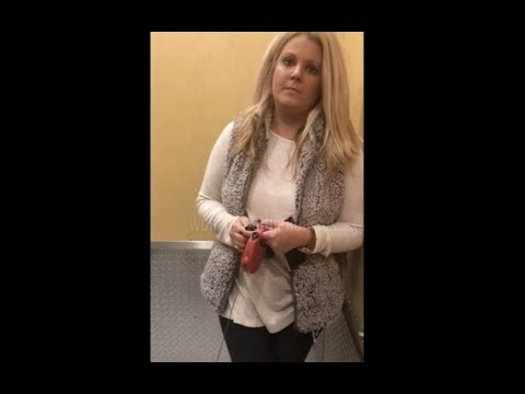 White Woman Tries To Stop A Black Man From Entering His Own Apartment