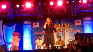 Ujjaini singing her favourite Mayya Mayya....