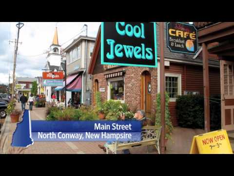 North Conway NH and the Nordic Village