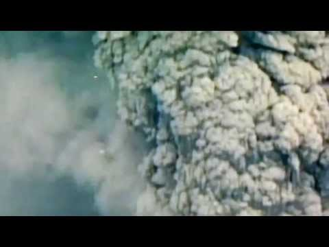 UFO during 1980 eruption of Mount St. Helens