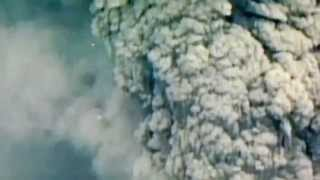 UFO during 1980 eruption of Mount St. Helens