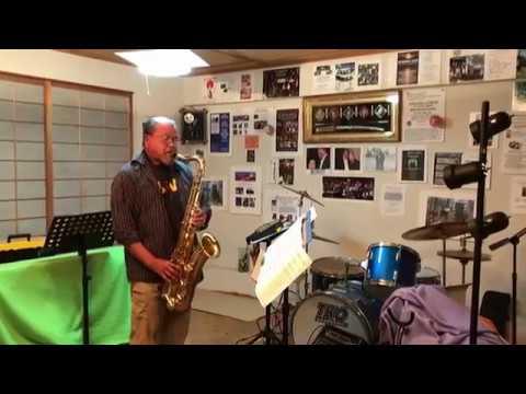 Manny Cruz plays John Coltrane manuscript Giant Steps