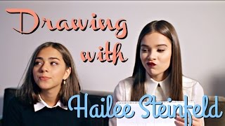 DRAWING CHALLENGE WITH HAILEE STEINFELD | SofiaBBeauty