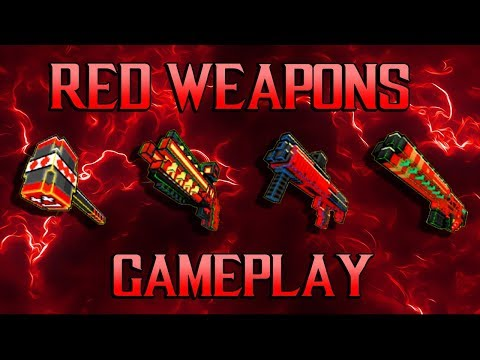 Block City Wars - Red Weapons Gameplay