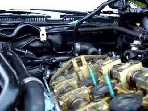 audi engine problems ticking noise valve cover   youtube