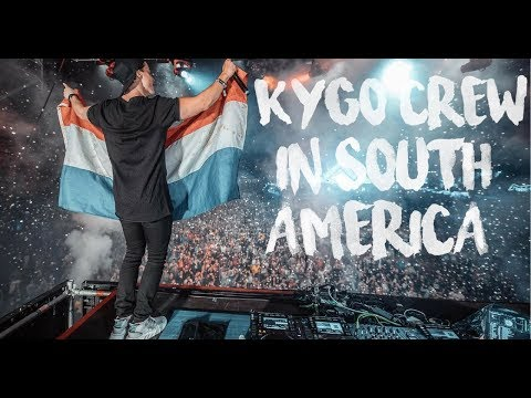 Kygo Crew Instagram Stories in South America ft  Alan Walker and more!!