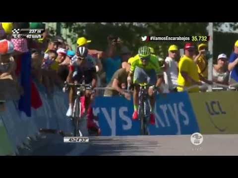 Jarlinson Pantano Ganador De la Etapa #15 Del Tour De Francia