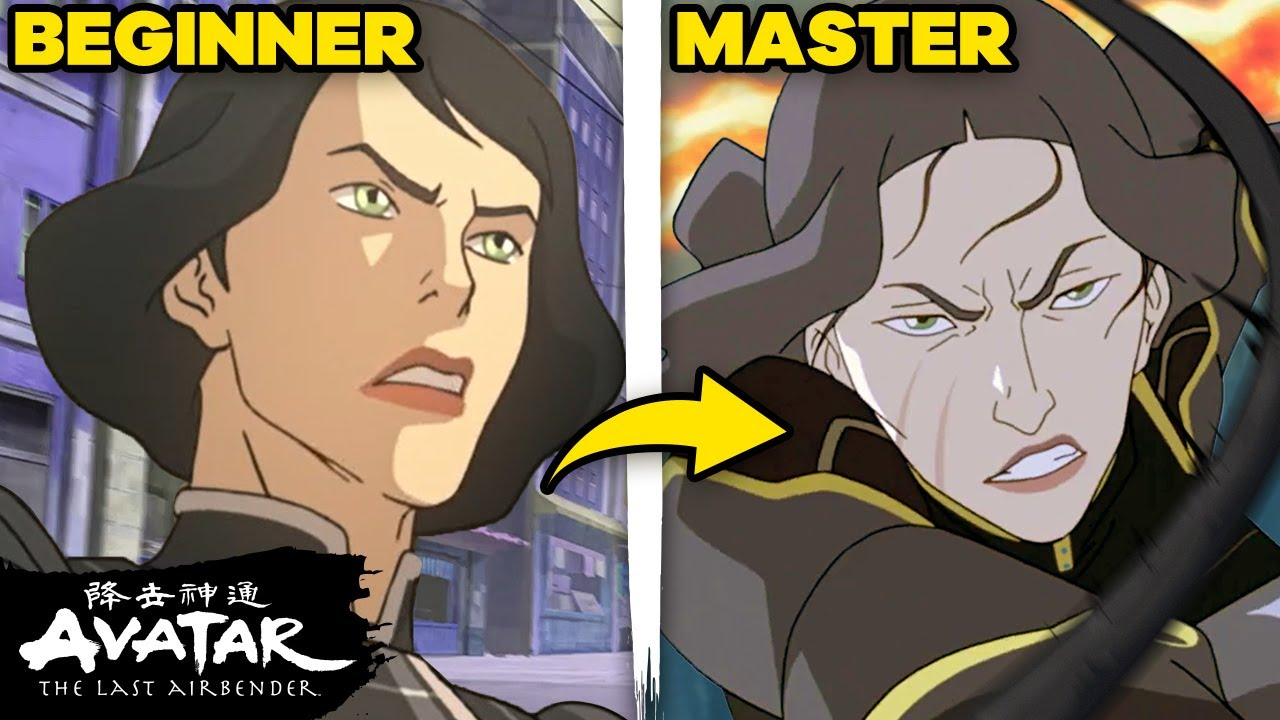 Lin and Suyin Beifong's Earthbending Evolutions ⛰⛓ | The Legend of Korra