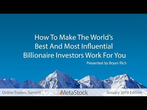 How To Make The World's Best And Most Influential Billionaire Investors Work For You