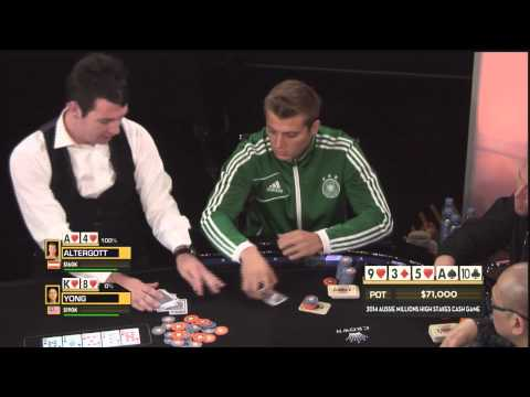 Aussie Millions 2014 - High Stakes Cash Game, Episode 2 | Po