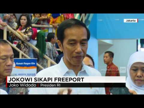 Presiden & Wapres Sikapi Freeport