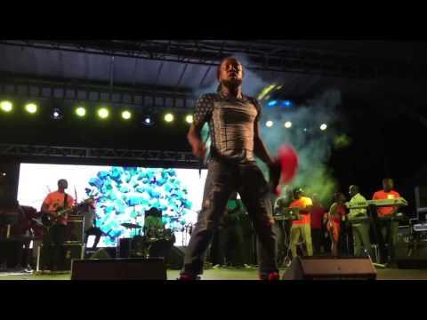 Antigua's All Star Band at Miami Carnival 2015   Miami Florida pt1