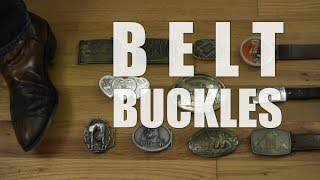 What to Wear with Cowboy Boots: BELT BUCKLES!