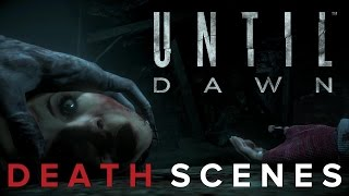 Until Dawn - 100% ALL Death Scenes