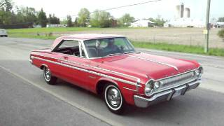 1964 dodge polara 500 burnout