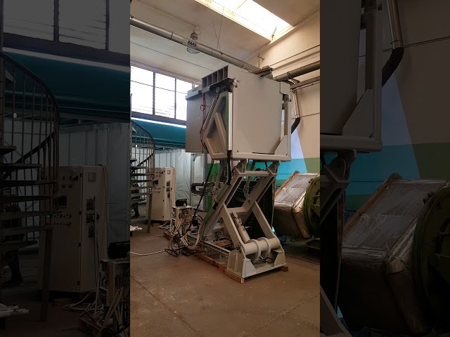 DITTA MUSTO TILTING FURNACE FOR MG ALLOYS  3 metres elevation