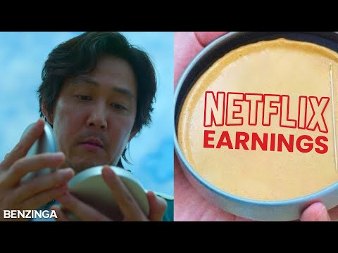 Can Squid Game Propel Netflix To Strong Earnings?   Power Hour   Stock Market Live 🚨