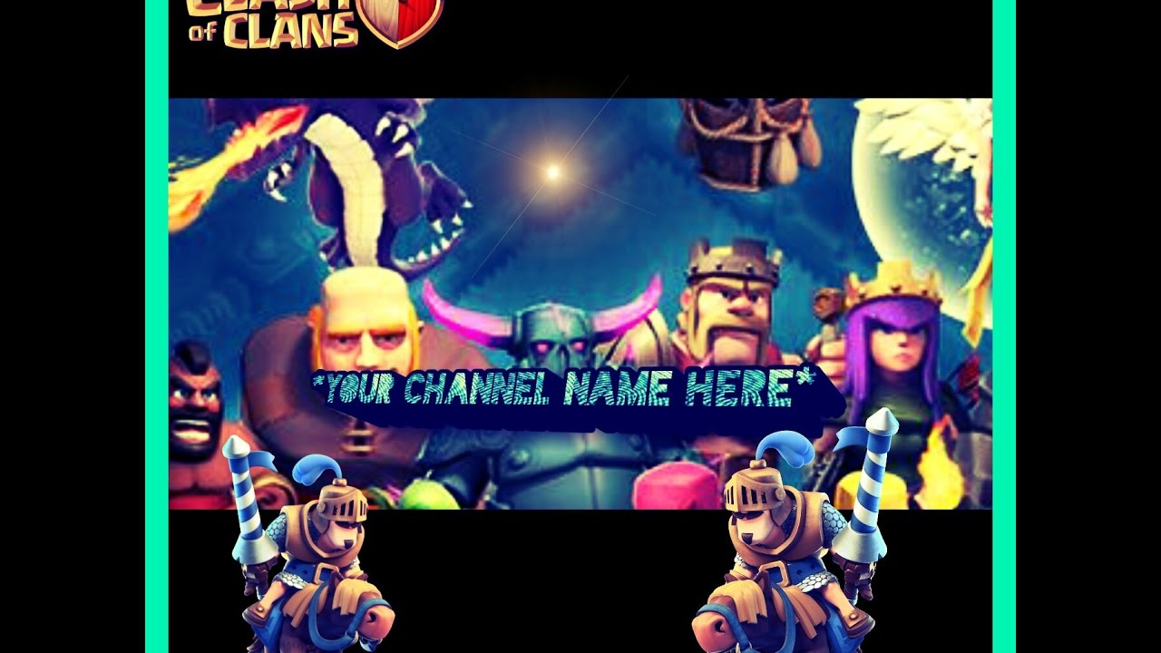 how to make channel art