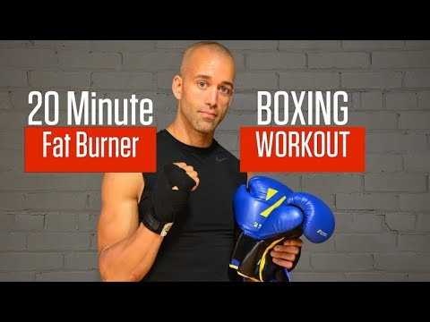 ULTIMATE 20 MINUTE BOXING WORKOUT | FAT BURNER 1