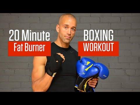 ULTIMATE 20 MINUTE BOXING WORKOUT   FAT BURNER 1