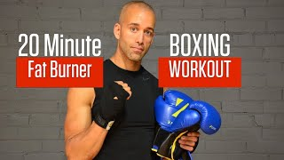 ULTIMATE 20 MINUTE BOXING WORKOUT | FAT BURNER 1