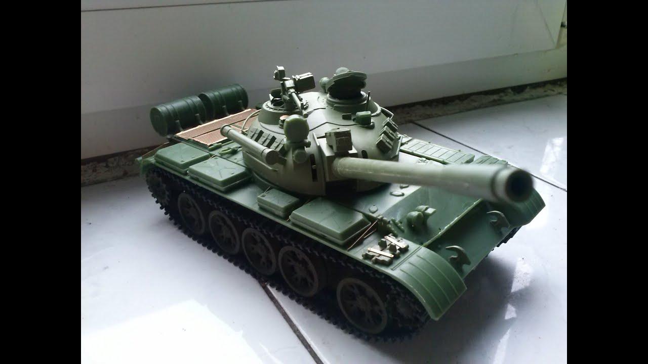 СБОРНЫЕ МОДЕЛИ: Советский тяжелый танк КВ-1. Обзор. - YouTube