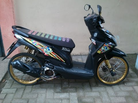 Racing Motorcycle -  Honda Beat Modifikasi Thai Look #3