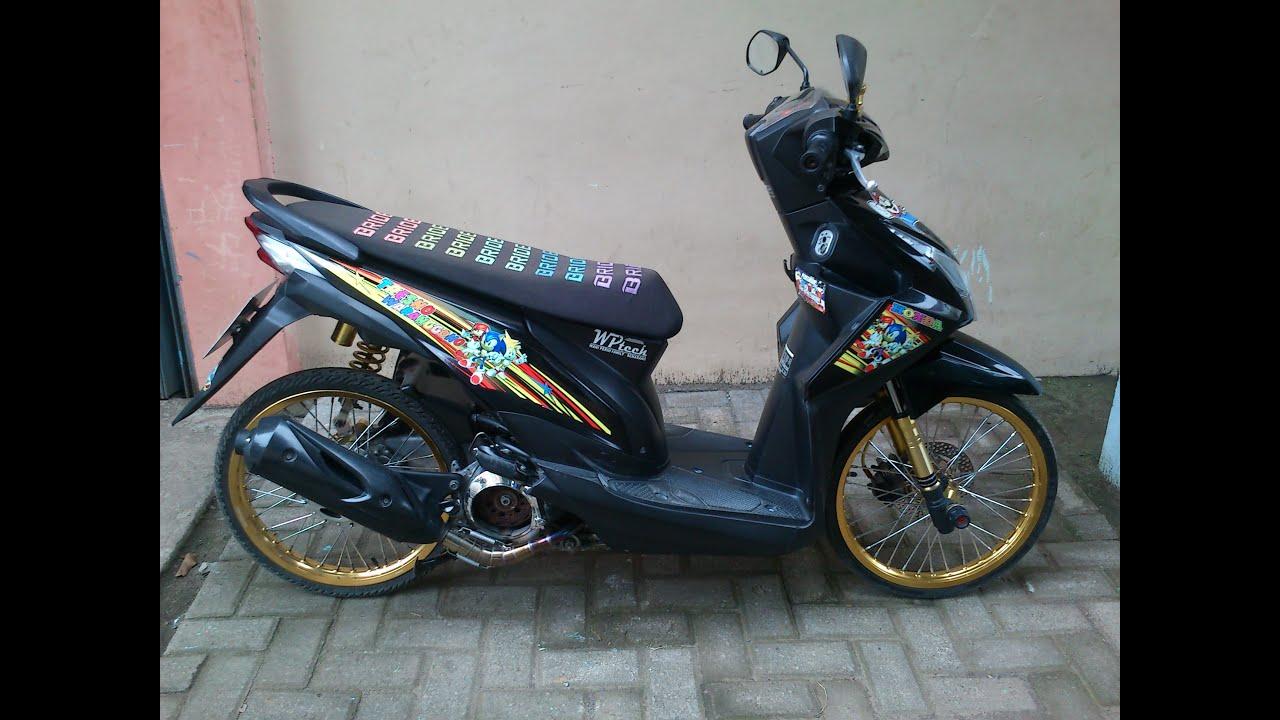 100 Modif Honda Beat Fi Thailook Modifikasi Motor Beat Terbaru