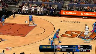 NBA 2K14 PC Gameplay: Suns vs Pistons