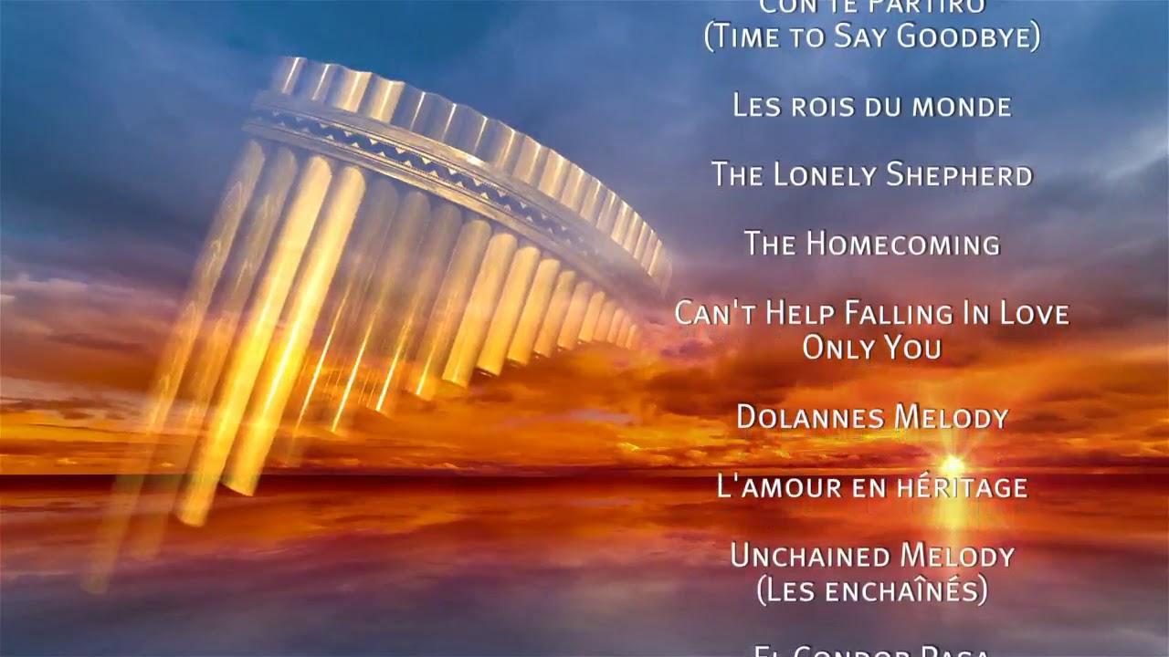 Plus Belles Chansons D Amour à La Flûte De Pan Dispo Youtube