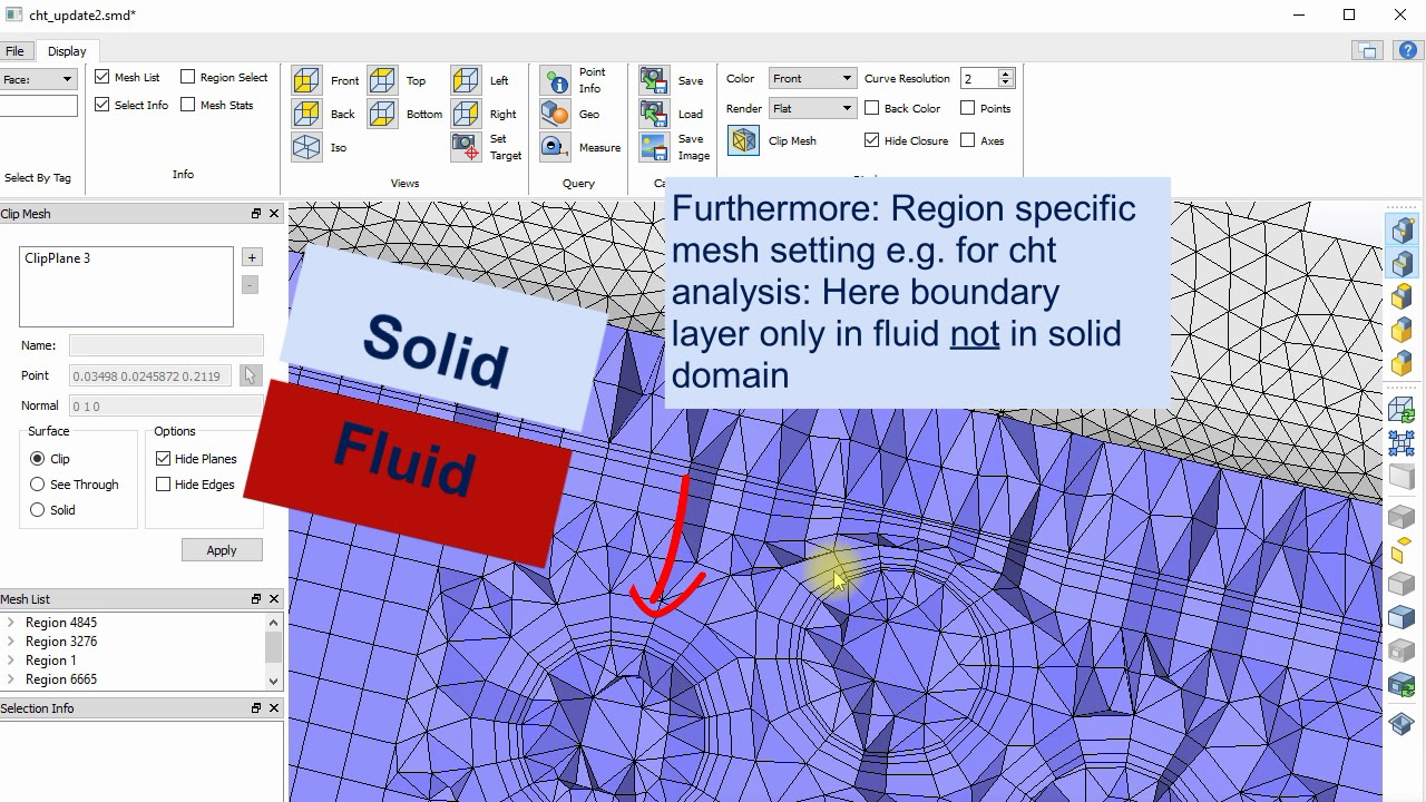 CastNet workflow for OpenFoam