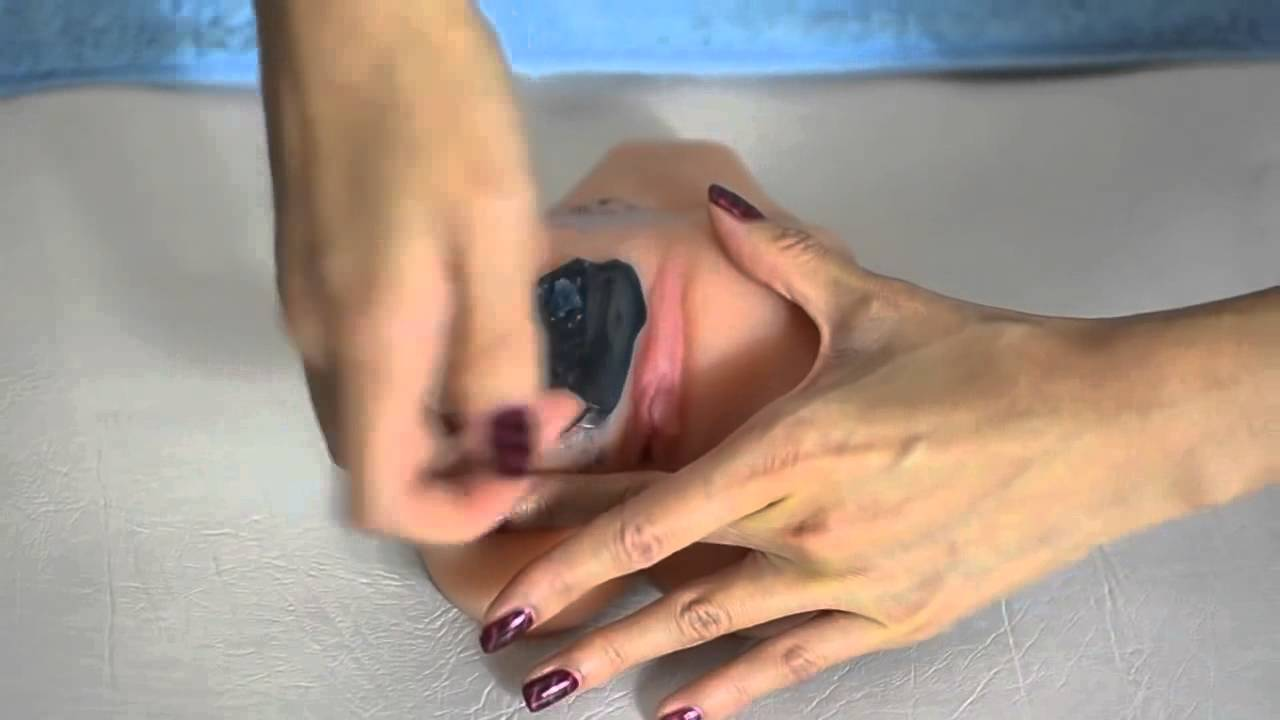 Hollywood style bikini wax video