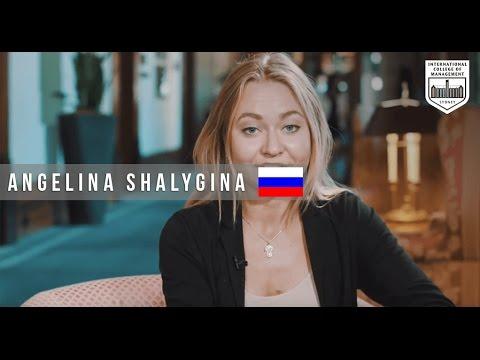 Angelina Shalygina - Russian Events management student