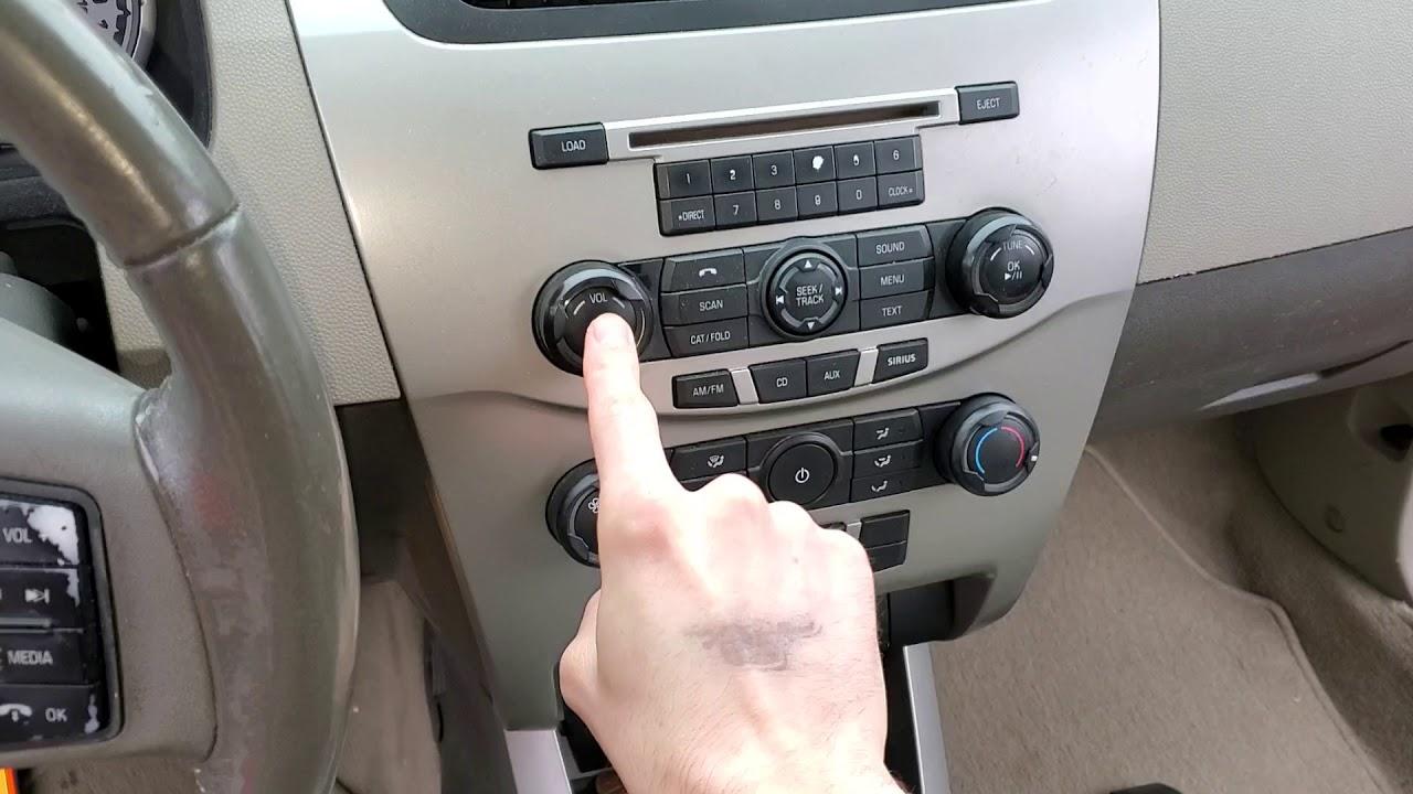 2009 Ford Focus Radio Fuses