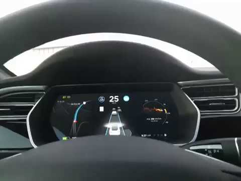 #3 Tesla Autopilot Actual Usage in Rush Hour Traffic