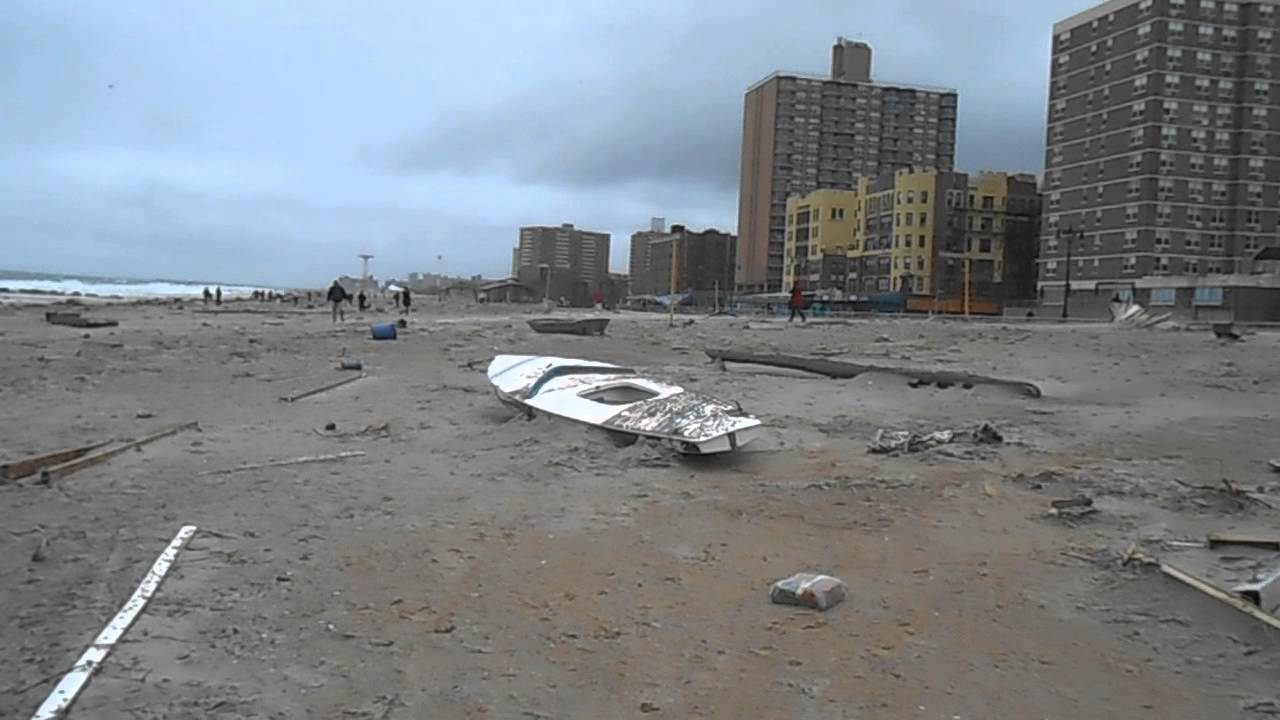 Brighton Beach After Sandy You