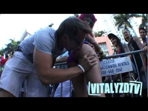 Nutella on Booty's At Ultra 2013