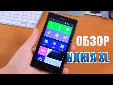Nokia XL Обзор