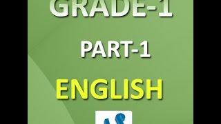 Frist grader english grammar online practice book