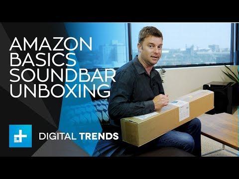 AmazonBasics Soundbar - Unboxing