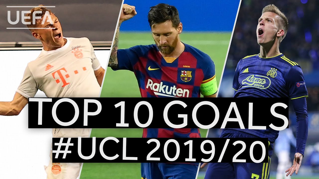 DANI OLMO, KIMMICH, MESSI: #UCL 2019/20 Top Ten GOALS