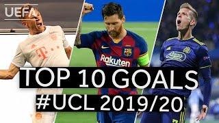 DANI OLMO, KIMMICH, MESSI: #UCL 2019/20 Top Ten GOALS